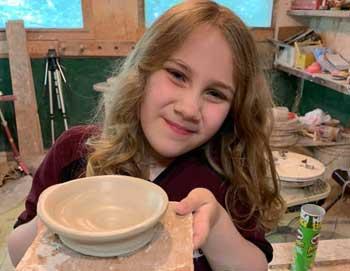 Kids Pottery Classes Saturdays